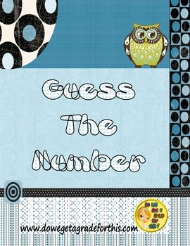 Number Sense - Guess the Number