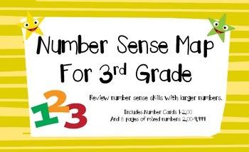 Number Sense Map