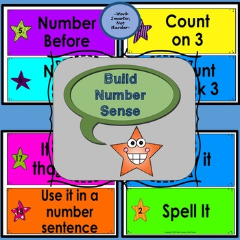 Number Sense Math Activity