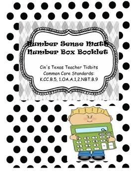Number Sense Math Box Booklet