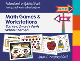 Back to School - School Themed - 12 Math Games/Centers!