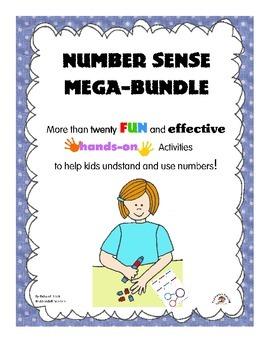 Number Sense Mega-Bundle: 20+ Activities to Help Kids Use