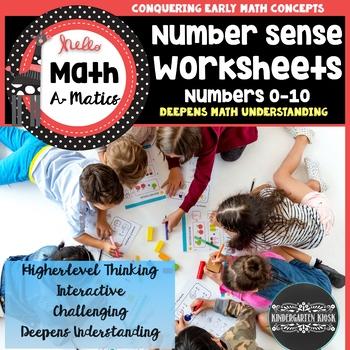 Number Sense Worksheets 1-10