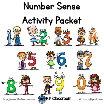 Number Sense No Prep Activity Packet Printable Worksheets