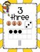 Number Sense Posters Super Hero Theme 1-20