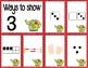 Number Sense Sorts for December (0 to 10)