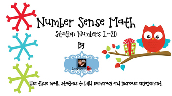 Number Sense Station Cards