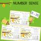 Math Center Mats Ten Frames Number Lines Tally Marks  writ