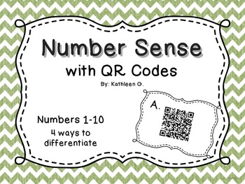 Number Sense With QR Codes