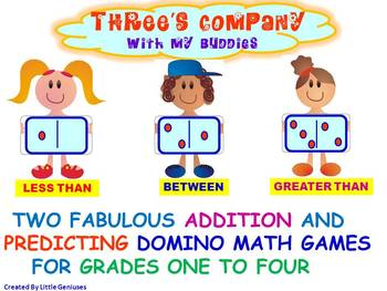 Number Sense Math Game With Predicting For Primary Grades