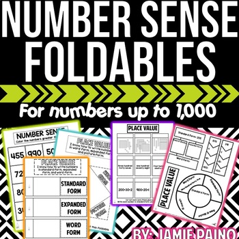 Number Sense and Place Value- Mini Packet