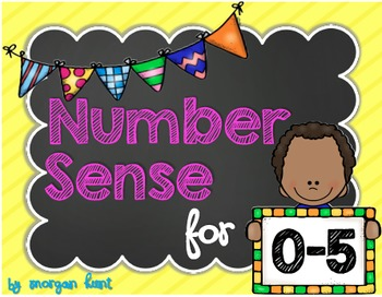 Number Sense for 0-5 {Aligned with CCSS & TEKS}