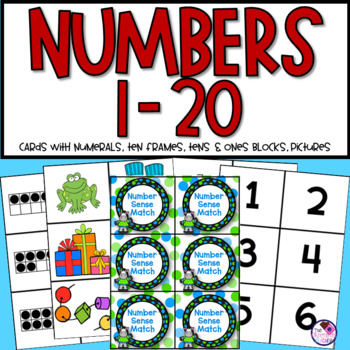 Number Sense to 20 Match