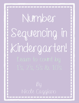 Number Sequencing - Counting by 1's, 2's, 5's, and 10's