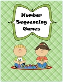 Number Order clothespin games