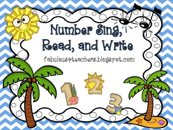 Number Sing, Read, and Write