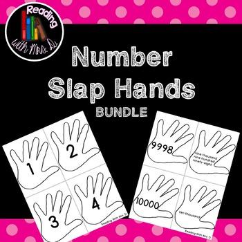 Number Slap Hands to 10000 BUNDLE