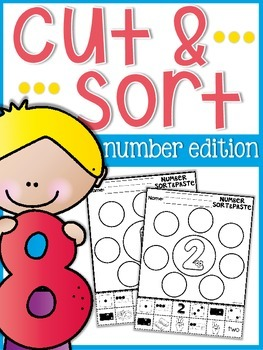 Number Sort and Paste Sheets {1-20}