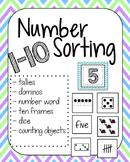 Number Sorting 1-10