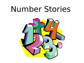 Number Stories Powerpoint