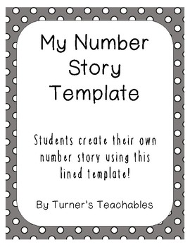 Number Story Template