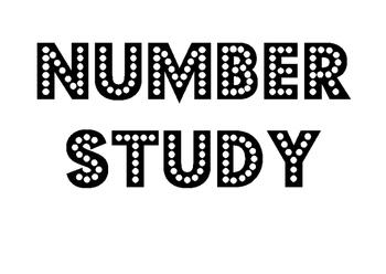 Number Study