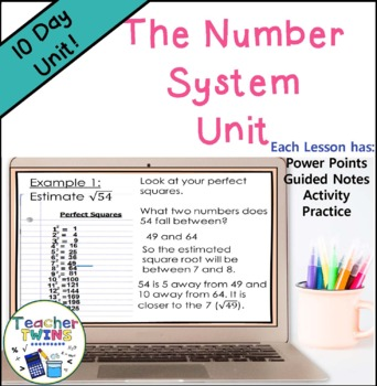 Number System Unit CCS 8.NS.1,  8.NS.2