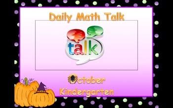 Number Talk - Kindergarten October (Halloween Theme)