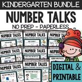 Number Talks - A Yearlong Program for Kindergarten - Commo