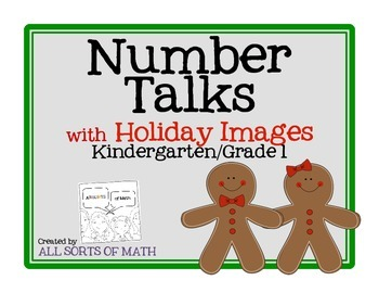 Number Talks with Holiday Images (Kinder/1st)