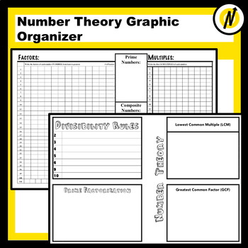 Number Theory Study Guide Graphic Organizer