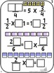 Number Tiles: Multiplying Fractions Square Tile Printed Ca
