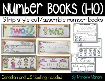 Number Tracing Books- Number books for preschool and kinde