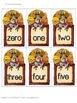 Number Turkeys {Order & Number Word Match} Number Cards 0-23