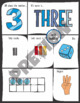 Number Vocabulary 1-10 Practice Activities