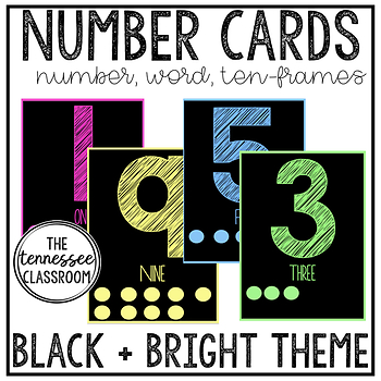 Number Wall Cards