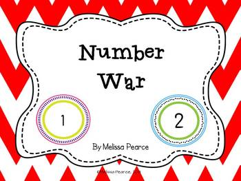 Number War: A Game to Practice Numbers up to 100