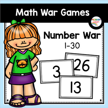 Number War to 30 (A Number Sense Game)