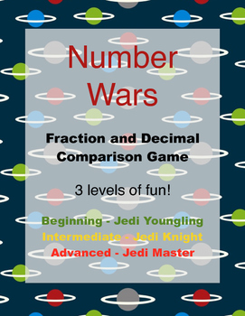 Number Wars: Comparing Fractions and Decimals