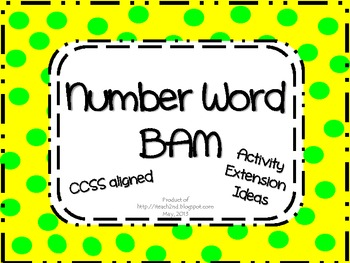Number Word BAM