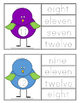 Number Word Clip & Trace Cards!