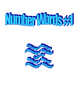 Number Words #1