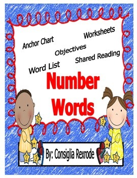 Number Words (Instructional and Independent Resources)