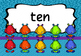 Number Words Monsters 1-20