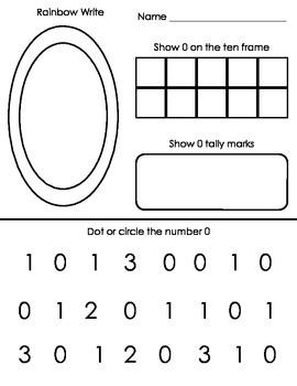 Number Work 0-10