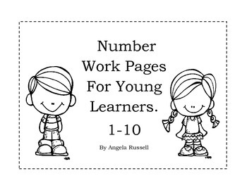 Number Work Pages For Young Learners~ 1-10