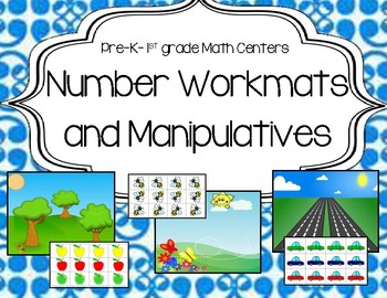 Math Centers: Math Mats and Manipulatives (Count, Add, and