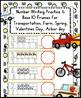 Number Writing, Base 10 Blocks: Valentine's Day, Transport