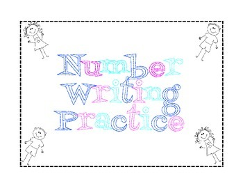 Number Writing Practice 0-100