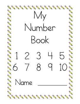 Number Writing Practice Books by Rita McCord | Teachers Pay Teachers
